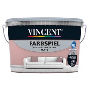 """Vincent              Farbspiel """"Altrosa"""" matt, 2,5 L"""