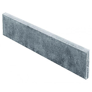 "Randstein ""Rasenbord"", grau, 100x25x5 cm"