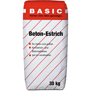 Basic              Estrich-Beton, 30 kg