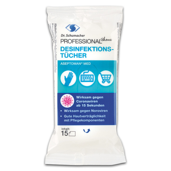 Dr. Schumacher Desinfektionstücher