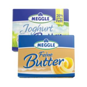 Meggle Feine Butter, Joghurtbutter oder Streichzart