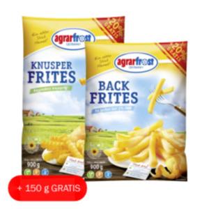 Agrarfrost Back Frites oder Knusper Frites