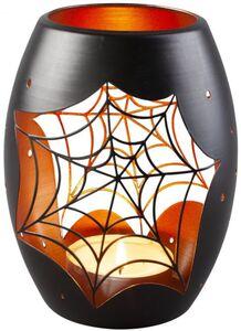 Windlicht - Spinnennetz - aus Metall - 12 x 12 x 12,5 cm