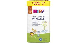 HiPP Babysanft Windeln Junior 5 Jumbo