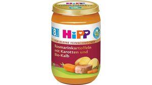HiPP BIO Rosmarinkartoffeln mit Karotten und Bio-Kalb