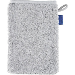 Joop! Waschhandschuh hellgrau , 1600 Joop! Classic Doubleface , Textil , Uni , 16x22 cm , Frottee , Aufhängeschlaufe , 003367211206