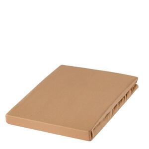 Estella Spannbetttuch zwirn-jersey hellbraun bügelfrei, für wasserbetten geeignet , 6900009 Zwirn-Jersey*mbo* , Textil , 100x200 cm , Zwirn-Jersey , bügelfrei, für Wasserbetten geeignet , 0041420