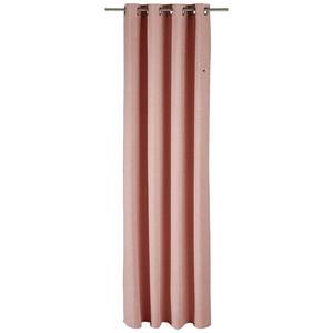 Esprit ÖSENSCHAL blickdicht 140/250 cm , E-Harp , Rosa , Textil , Uni , 140x250 cm , 003021046404