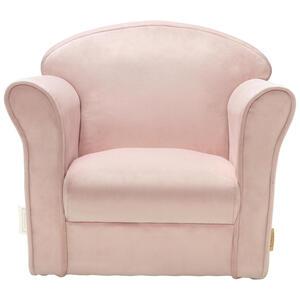 Jimmylee Kindersessel , Kindersessel , Pink , Textil , 39x44x50 cm , Samt , 001243003001