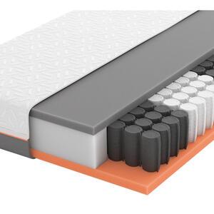 Schlaraffia Gel-taschenfederkernmatratze primus 250 tfk 120/200 cm , Primus 250 Tfk , Weiß , Textil , H3=fest ab ca.80kg , 120x200 cm , Doppeltuch , Härtegradauswahl, Über- und Sondergrößen erh