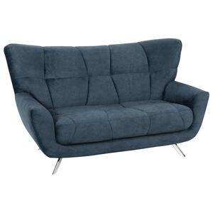 Hom`in Zweisitzer-sofa mikrofaser petrol , Passionata   -Hom In- , Textil , 2,5-Sitzer , 180x96x100 cm , Mikrofaser , Typenauswahl, Stoffauswahl, Hocker erhältlich , 000647002402