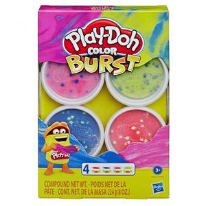 Play-Doh Color Burst - Pastellfarben - Knetset