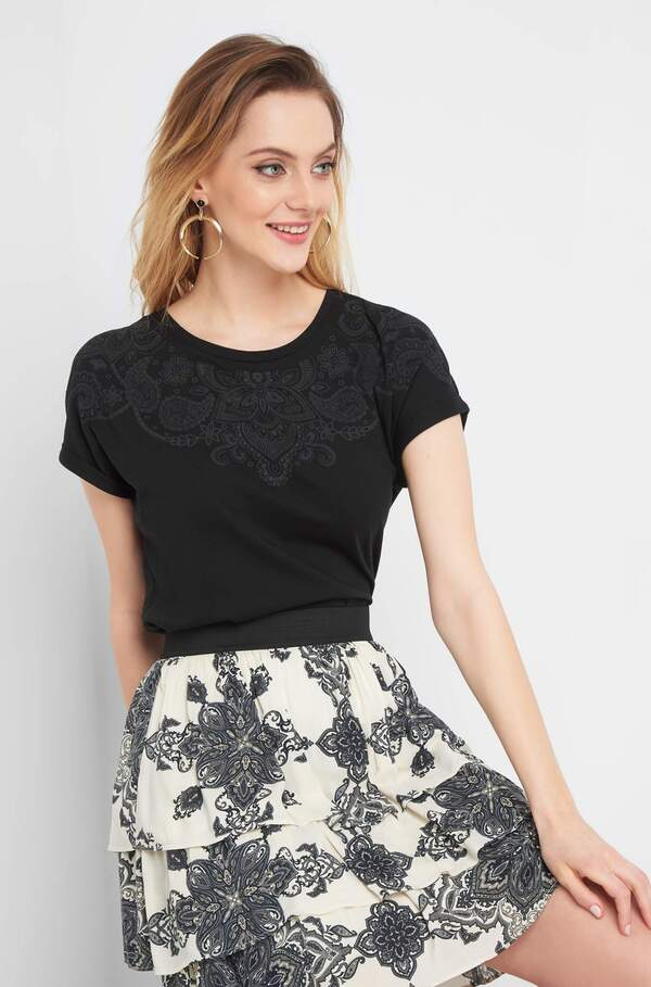 Shirt mit Ethno-Muster