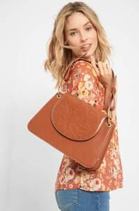 Handtasche in Leder-Optik