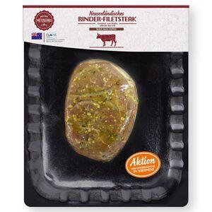 MEINE METZGEREI Rinder-Filetsteak aus Neuseeland 249g