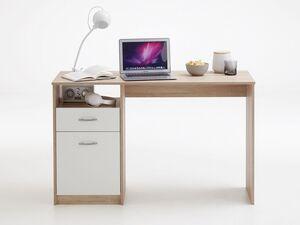 FMD Schreibtisch »JACKSON«, mit Tür, Schubkasten, offenes Ablagefach, Spanplatte
