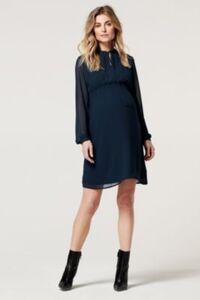 Stillkleid Dress nurs ls Amesbury blau Gr. 38 Damen Erwachsene