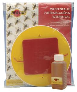 Wespenfalle, Gr. L, 3 Liter Redtop