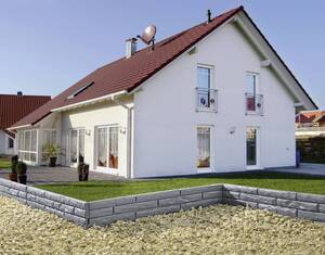 """Gartenmauer """"Steinoptik"""""""