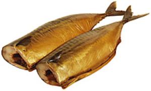 Makrelen (Scomber scombrus) ohne Kopf kaltgeräuchert. / lose