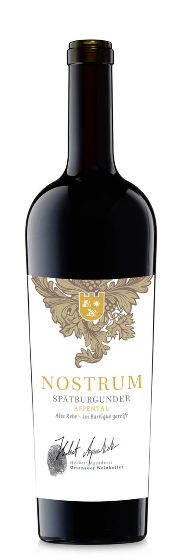 Ortenauer Weinkellerei Nostrum Spätburgunder trocken 2016 0,75L