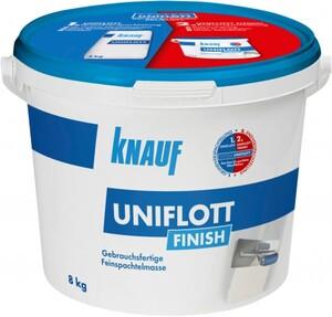 Knauf Spachtelmasse Uniflott Finish ,  weiß, 8 kg