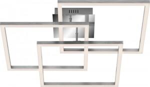 DI-KA LED Deckenleuchte ,  WIFI CCT LED, mit Fernbedienung , chrom - alu