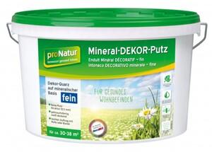 Pronatur Mineral Dekor-Putz ,  0,5 mm Körnung fein, 15 kg
