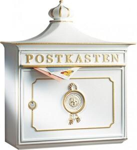 Burg Wächter Briefkasten Bordeaux