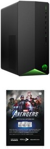 Pavilion Gaming TG01-0370ng Gaming PC shadow black inkl. Avengers Voucher