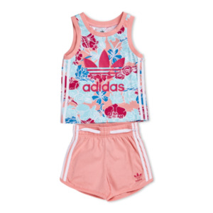 adidas Floral - Baby Tracksuits