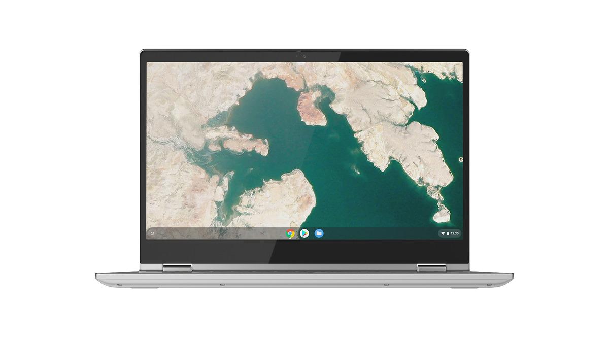 Bild 1 von LENOVO Chromebook C340-15 Chromebook mit Core i3, 4 GB RAM, 128 GB & Intel UHD Graphics 620 in Mineral Grey