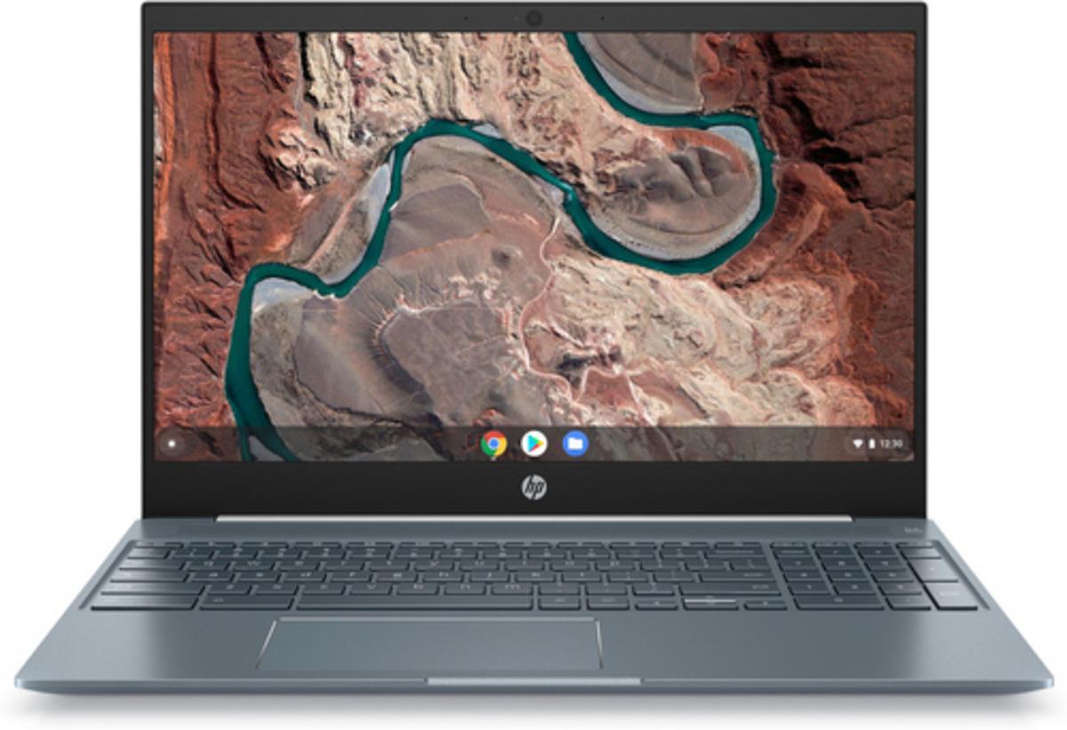 Bild 1 von HP Chromebook 15-de0310ng Chromebook mit Intel® Core™ i3 der achten Generation, 8 GB RAM, 128 GB & Intel® UHD Graphics 620 in Weiß