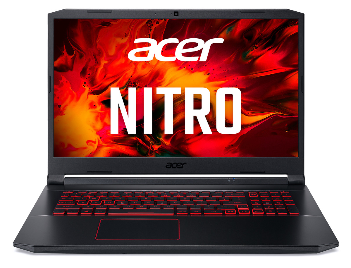 Bild 1 von ACER Nitro 5 (AN517-52-56A7), Gaming Notebook mit 17.3 Zoll Display, Core™ i5 Prozessor, 8 GB RAM, 1 TB SSD, GeForce® GTX 1650Ti, Schwarz