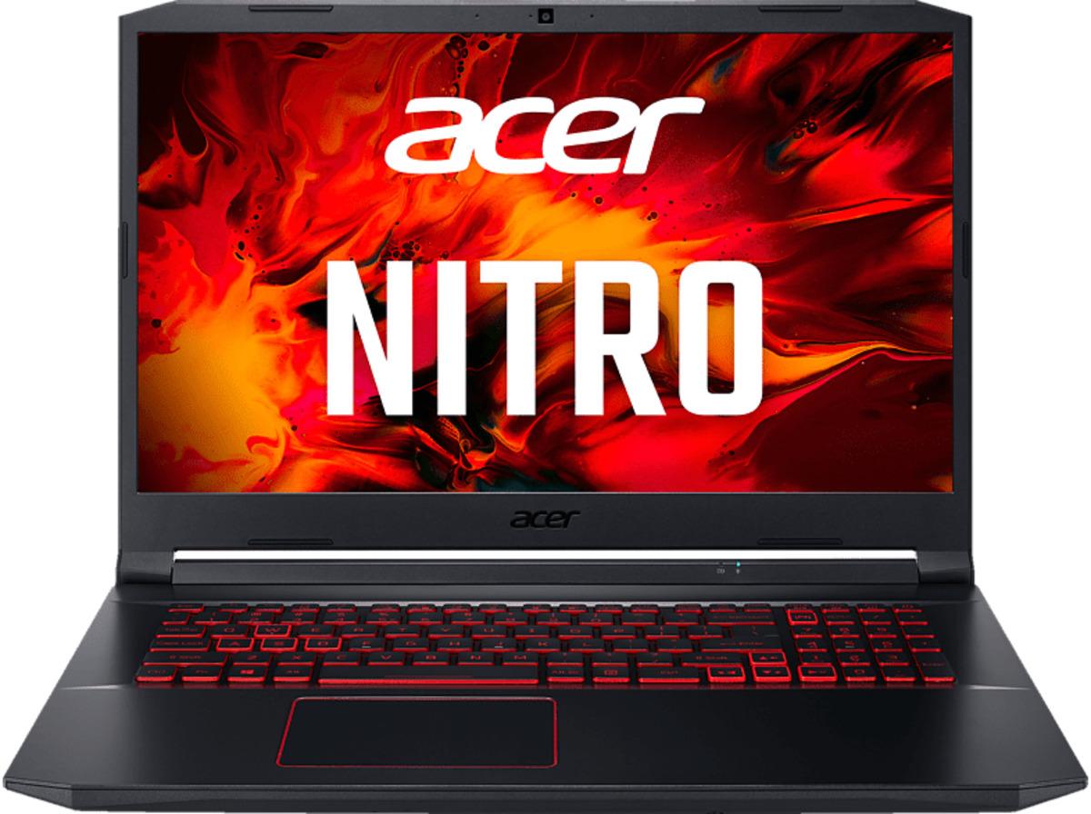 Bild 2 von ACER Nitro 5 (AN517-52-56A7), Gaming Notebook mit 17.3 Zoll Display, Core™ i5 Prozessor, 8 GB RAM, 1 TB SSD, GeForce® GTX 1650Ti, Schwarz