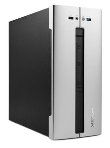 MEDION ® AKOYA® E66013 (MD34001), Multimedia PC, Core™ i5 Prozessor, 8 GB RAM, 512 GB SSD, GT730, Silber