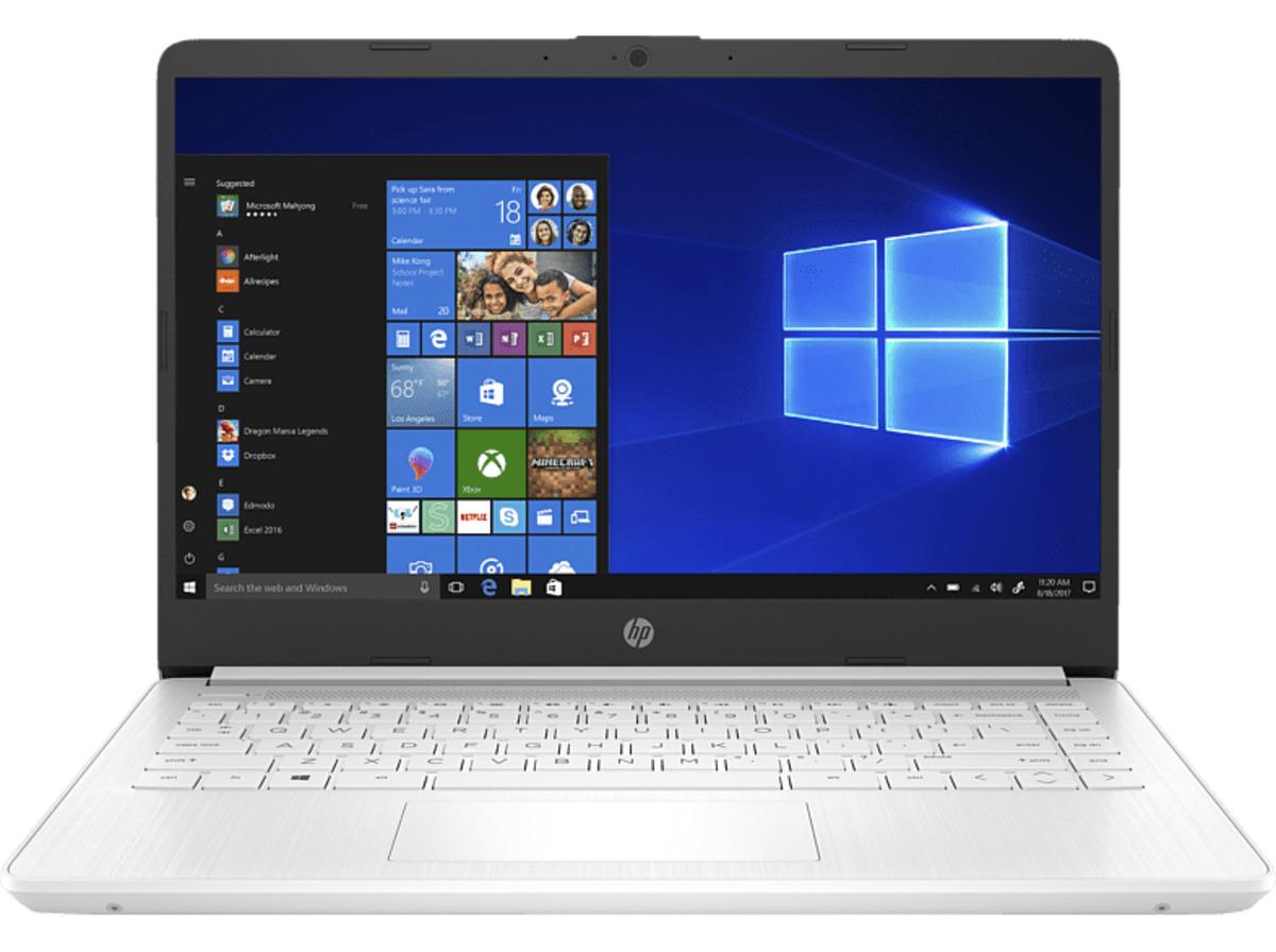 Bild 2 von HP 14s-dq1301ng, Notebook mit 14 Zoll Display, Core™ i5 Prozessor, 8 GB RAM, 512 GB SSD, Intel® UHD-Grafik , Weiß