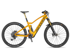 Scott Genius eRIDE 900 Tuned 2020 | 16 Zoll | fire orange/dark anthracite