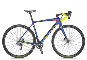 Scott Addict CX RC 2020 | 54 cm | chameleon blue/purple/yellow