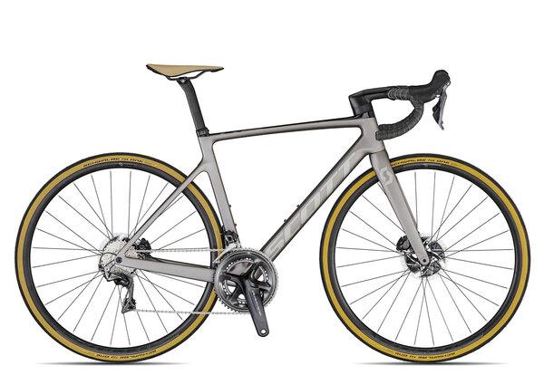 Scott Addict RC 10 2020 | 54 cm | titanium grey/light grey