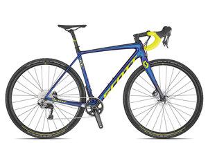 Scott Addict CX RC 2020   58 cm   chameleon blue/purple/yellow