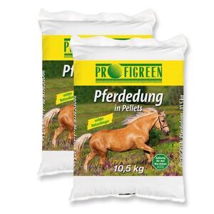 Pferdedung in Pellets 21 kg (2 x 10,5 kg)