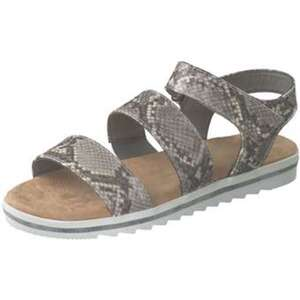 Puccetti Sandale Damen grau