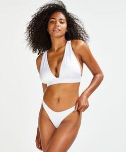 Hunkemöller Bikinihöschen Lola mit hohem Beinausschnitt Weiß