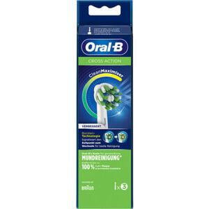 """Oral-B Aufsteckbürsten """"Cross Action Cleanmaximiser"""", 3er Pack"""