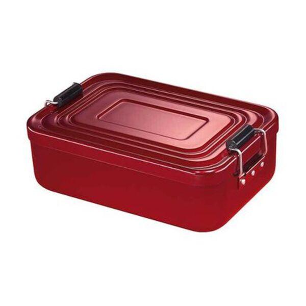 Küchenprofi Aluminium-Lunchbox klein, rot