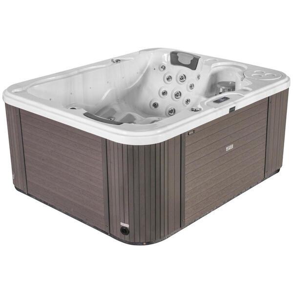 XXXLutz Whirlpool asti weiß , Asti , Holz, Keramik , 211x90x170 cm , glänzend , 0050010019