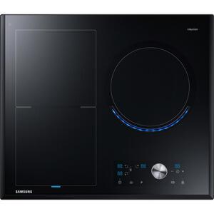 Samsung Kochfeld nz63j9770ek/eg , Nz63J9770Ek/eg , Schwarz , Glas , 60x5.2x52 cm , Kindersicherung, Sicherheitsabschaltung, Betriebskontrollleuchte, Hauptschalter, Restwärmeanzeige je Kochzone, Topf