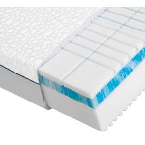 Dieter Knoll Kaltschaummatratze polar 3d premium 2.0 90/200 cm , Polar 3D Premium 2.0 , Weiß , Textil , H3=fest ab ca.80kg , 90x200 cm , Doppeltuch , Härtegradauswahl, Bezug abnehmbar/waschbar, fü