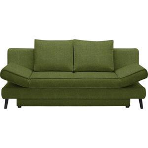 Xora Schlafsofa grün , Sidney , Textil , Uni , 200x85x90 cm , Stoffauswahl , 002469018914